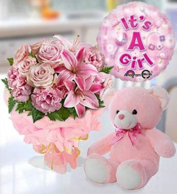 Pinkness For Baby Girl