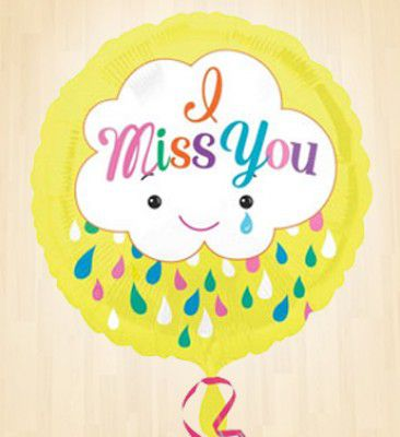 Miss You Balloon